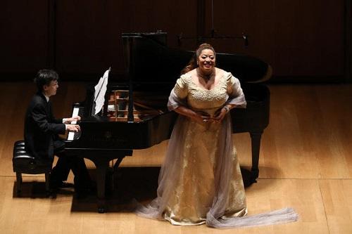 Michelle Bradey (soprano) and Ken Noda (piano) © Mark Von Holden