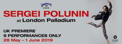 officiell säljs över hela världen lägsta pris Sergei Polunin and Friends at London Palladium 28 May – 1 ...