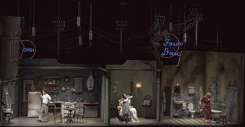 A Streetcar Named Desire premiered in Teatro Colón. (Photo Arnaldo Colombaroli)